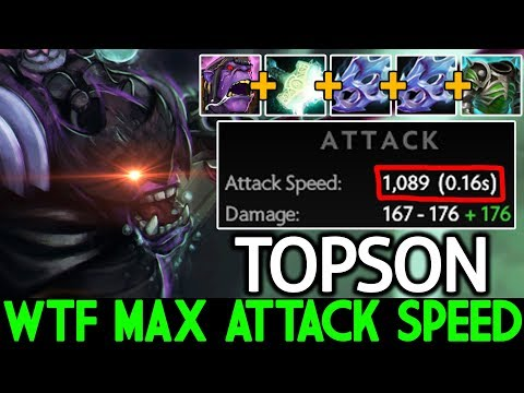 TOPSON [Alchemist] WTF Max Attack Speed Insane Build 7.21 Dota 2 thumbnail