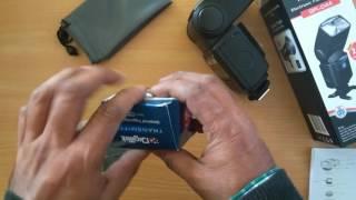 Digitek Flash DFL-044 with inbuilt 2 4G Receiver amp DRM-002T Transmitter Included