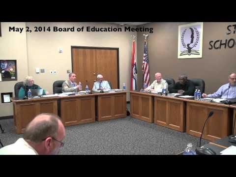 May 2, 2014: Board Of Education Meeting