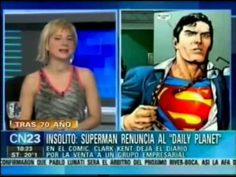 SuperMan renuncia al Daily Planet
