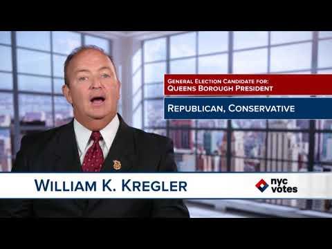 William K. Kregler: Candidate for Queens Borough President