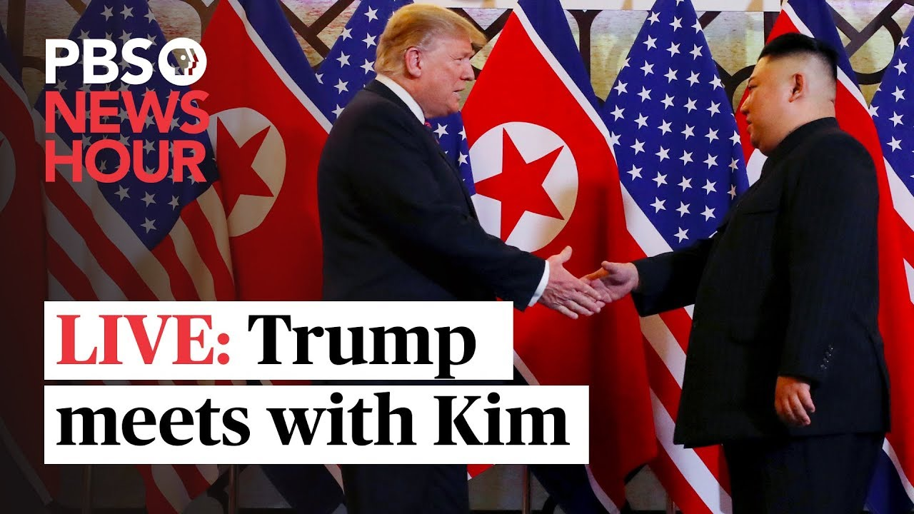 WATCH LIVE: Trump meets with North Korea's Kim Jong Un - YouTube