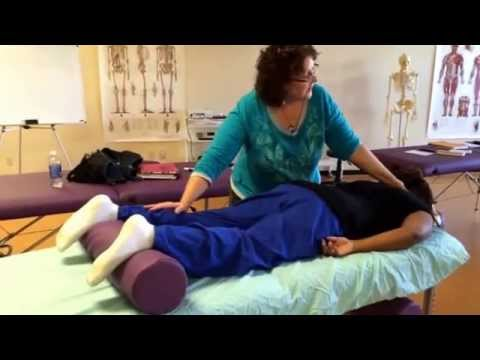 Polarity class demonstration at Somatherapy Institute School of Massage -   Instructor K. Shyptycki