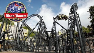 Video The Smiler 14 Inversion World Record Roller Coaster Off-Ride POV Alton Towers 60FPS download MP3, 3GP, MP4, WEBM, AVI, FLV November 2017