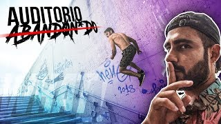 PARKOUR en un AUDITORIO ABANDONADO con el TEAM WHAT!🔥