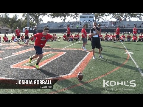 Joshua Gorball | #16 Ranked Kicker in America | Class of 2018