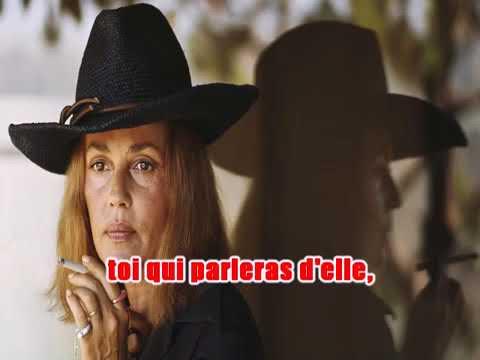 Karaoké Jeanne Moreau - India song .