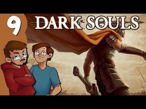 Let's Play | Dark Souls - Part 9 - Undead Burg Surprises