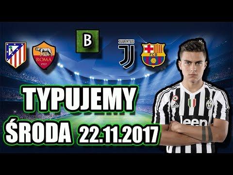 ZAPOWIEDZ ORAZ TYPY BUKMACHERSKIE LIGA MISTRZÓW [Środa 22.11.2017] Juventus - Barcelona