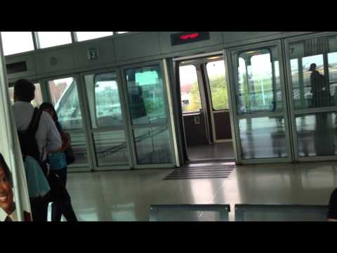 Airtrain Newark station P3 to Terminal A
