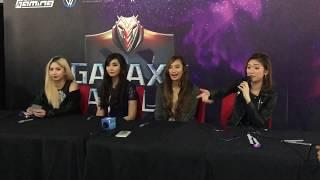 Galaxy Battles 2018: Ashley & Alodia Gosiengfiao, Ann Mateo and Bianca Yao