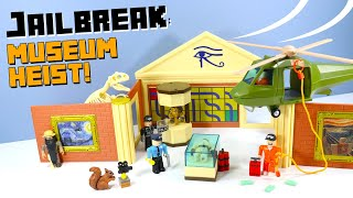 Roblox Jailbreak Museum Heist Playset toy review Jazwares