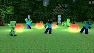 Minecraft Harlem Shake  3X