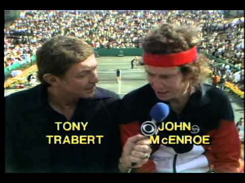21 year old John McEnroe Interview