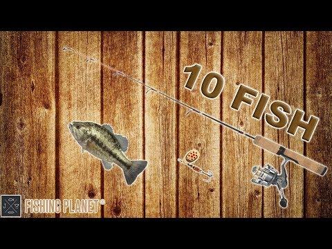 Fishing Planet І Texas - Lone Star Lake I 10 Spotted Bass