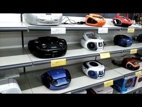 Магнитофоны Sony, BBK, TELEFUNKEN, скудный выбор.