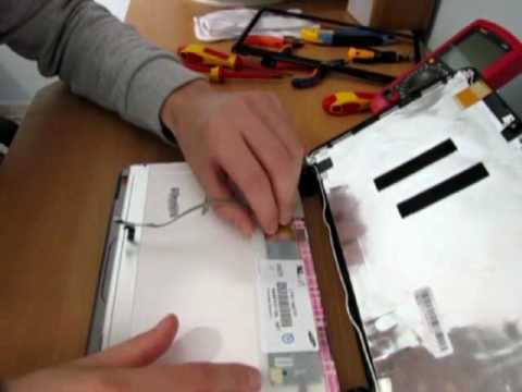 Acer Aspire One Netbook Screen Replacement Procedure