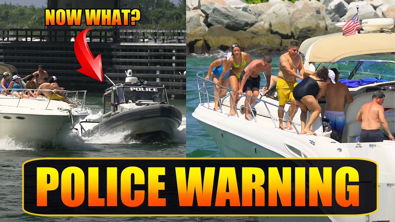 Download OH, I DIDN'T KNOW THEY COULD DO THAT! HAULOVER POLICE   BOAT ZONE