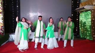 Best Holud Dance | Maahi Ve Dance Cover | Team Bride (PEYA)
