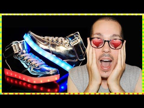 Shoes Silver Mirror LED! - QUANTO AMO IL TRASH!