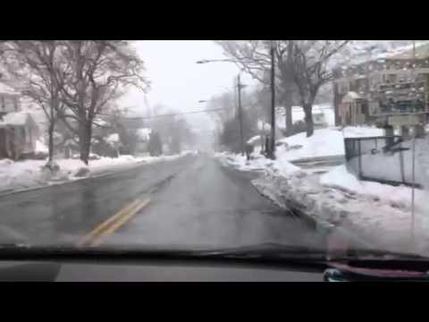 Belleville Turnpike NJ 2-15-2014 snow