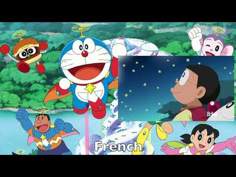 Doraemon 2005 Opening Multilanguage Comparison