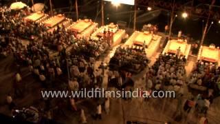 Aerial view of Varanasi