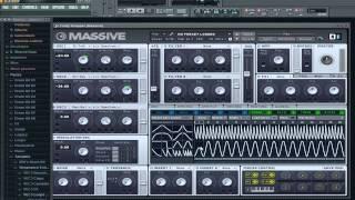 FL Studio Beginner Tutorial #3 - Massive and Automation Clips