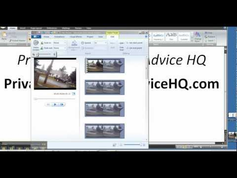 How To Remove Audio And Sound From Your Video Using Windows Live Movie Maker.mp4