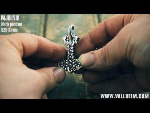 Mjolnir Viking pendant