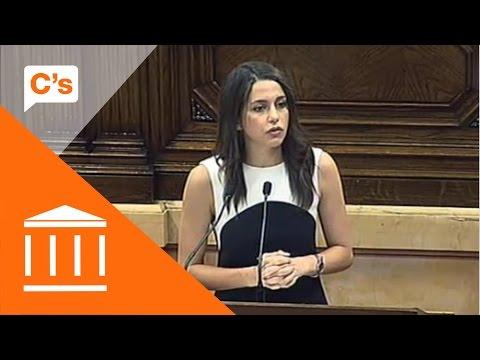 Inés Arrimadas. Intervención en debate sobre conclusiones de la comisión del proceso constituyente