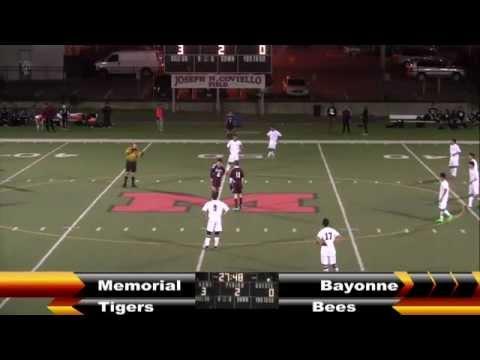 MHS Boys Soccer vs Bayonne 10-29-15