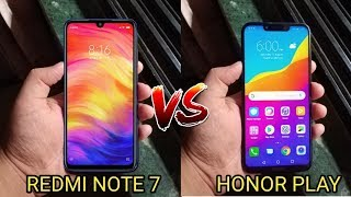 Redmi Note 7 Vs Honor Play Full Comparison - Which Is Better For You? [Hindi]