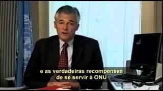 Boas-vindas de Sergio aos novos trabalhadores da ONU (2002)