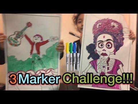 3 Marker Challenge!!