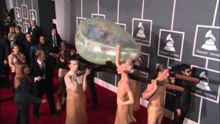 Lady Gaga on the GRAMMY Red Carpet Thumbnail