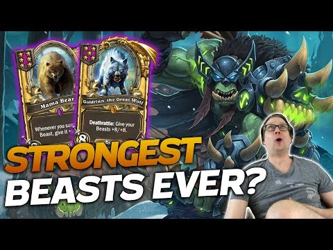 The Absolute STRONGEST BEAST GAME EVER! | Hearthstone Battlegrounds | Savjz