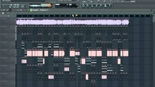 trebol clan - pa los moteles FL Studio remake.avi