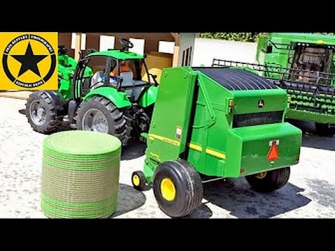 Bruder Tractors For Children Ertl Baler With Bruder Toys