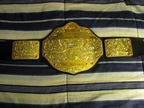 World Heavyweight Championship Belt (Mattel) - YouTube