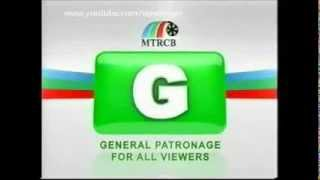 MTRCB G TV Ratings System True Motion Picture