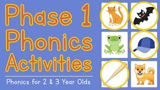 Phonics Phase 1 Activities   Phonics For 2 & 3 Year Olds