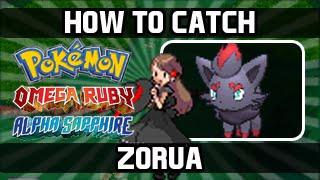 Pokemon Omega Ruby / Alpha Sapphire - How To Catch: Zorua [DexNav]