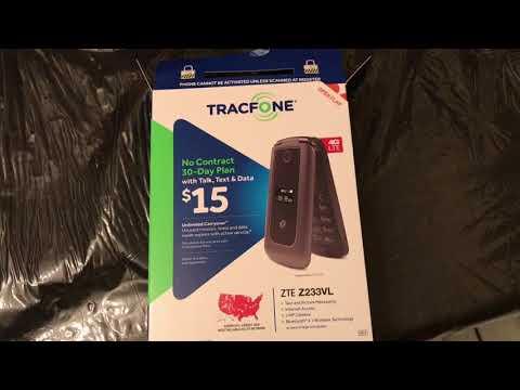 Tracfone ZTE Z233VL - YouTube