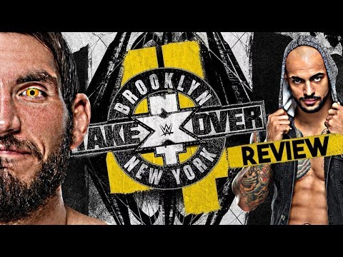 WWE NXT TakeOver: Brooklyn 4 - PPV Review/Rückblick - ABRISS! 💥 (Deutsch/German)