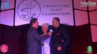 Comp Crawl with DanceBeat! USDC 2017! Pro Am Smooth Open Snr Marilyn and Andrea