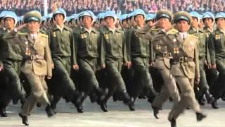 Парад армии КНДР / North Korean army Parade. Военный парад