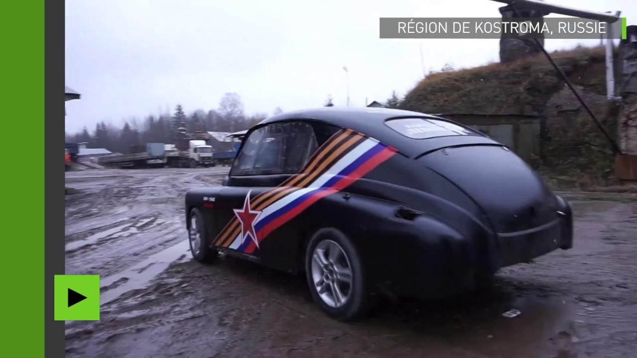 Need For Speed Un Inventeur Russe Transforme Une Voiture Des Annees 1950 En Bolide De Course