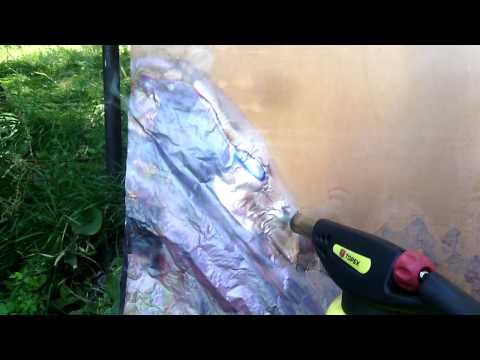 Как снять фольгу с текстолита
