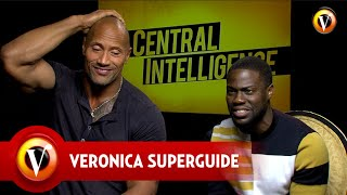 Superguide interviewt Central Intelligence's The Rock & Kevin Hart